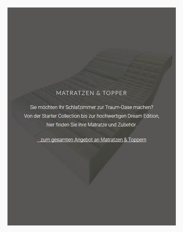 Matratzen-Topper für 76133 Karlsruhe